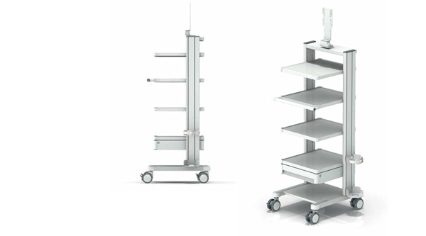 OR Trolleys for minimally-invasive surgery